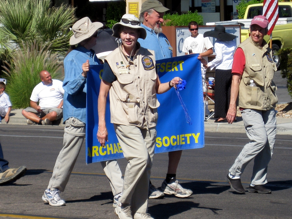 This is the Colorado Archaeological Society--what are they doing in California?