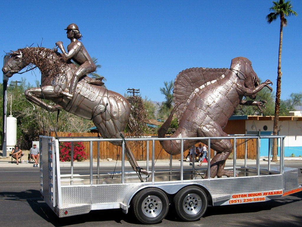 Art comes to Borrego Springs.